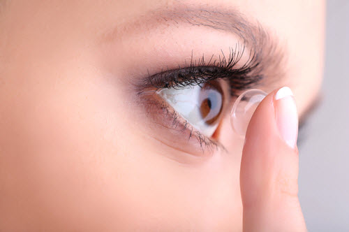 Contact Lens photo from Optique, opticians in Battersea, London