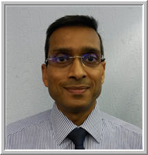 Hitesh Shah optician at Optique, Battersea