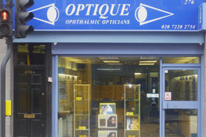Optique, opticians in Battersea, London - Shop Photo